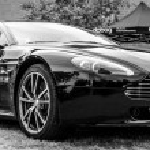 Постер, плакат: Sports car Aston Martin Vantage 2010