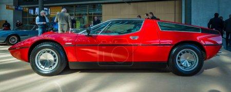 Sports car Maserati Bora Tipo