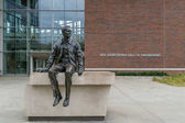 Neil Armstrong Sculpture and Neil Armstrong Hall of Engineering