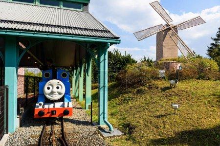Thomas and Perci fun ride