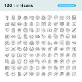 Set of premium concept icons for healthcare and medicine