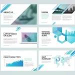Set of vector infographic elements for presentatio...