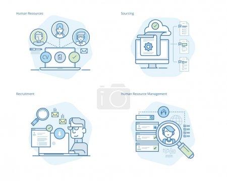 Illustration pour Kit UI / UX pour la conception web, les applications, l'interface mobile, l'infographie et la conception d'impression . - image libre de droit