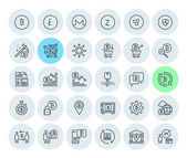 Cryptocurrency icons collection Premium quality thin line icons set of blockchain technology bitcoin altcoins mining finance digital money market cryptocoin wallet stock exchange