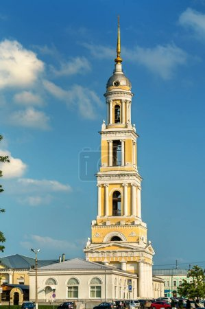 Bell tower of John the Apostle Church in Kolomna, Russia