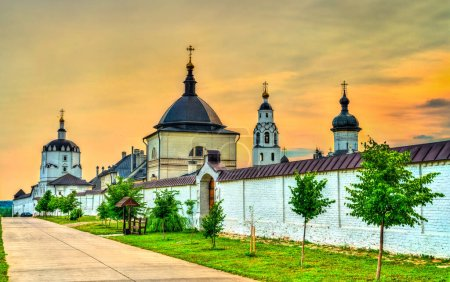 The Assumption Monastery in the town-island of Sviyazhsk in Russia