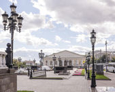 Central Exhibition Hall on Manezh Square. Nearby walking and res