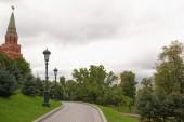 Moscow, the Alexandrovsky Garden