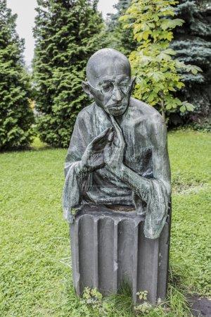 Sculpture Mahatma Gandhi in the