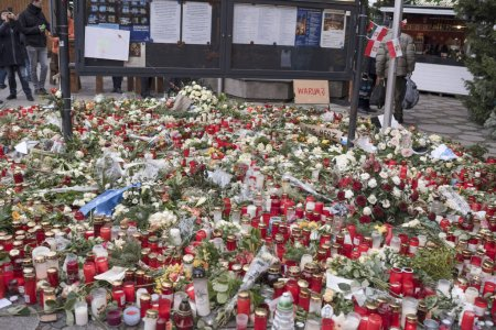 Berlin honored the memory of those killed in the terrorist attac