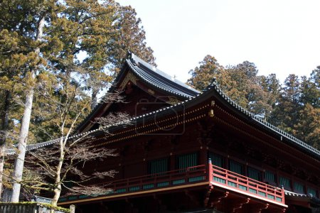 The temples around Nikko, before reaching Toshogu Temple - which