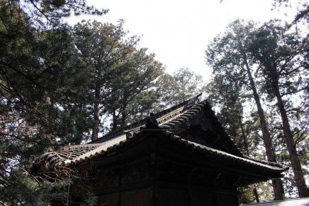 Around the mausoleum or tomb of Ieyasu Tokugawa