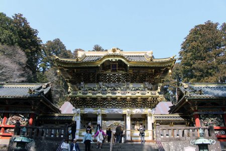 Translation: Toshogu Temple (included in the World Heritage list