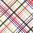 Colored Geometric background in Piet Mondrian Styl...