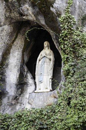 Virgin in Lourdes