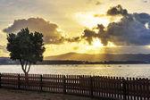 Dawning in Arousa estuary