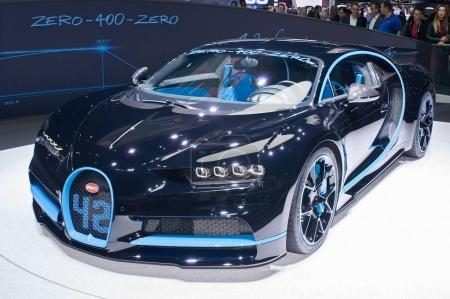 Bugatti Хирон 42 секунд издание