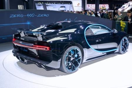 Bugatti Chiron 42 seconds edition