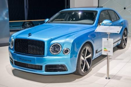 Bentley Mulsanne design series by