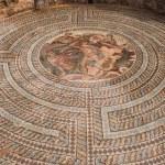 Greek mythology mosaics in house of theseus...