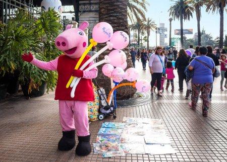 Уличный торговец Свинка Пеппа