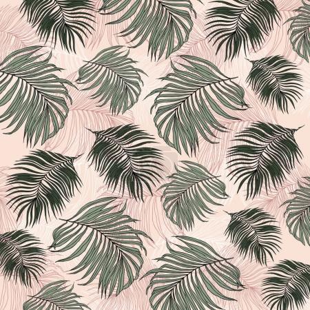 Foto de Patrón de hojas de selva tropical - Imagen libre de derechos