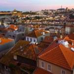 View of Old Porto and Dora river, Portugal....