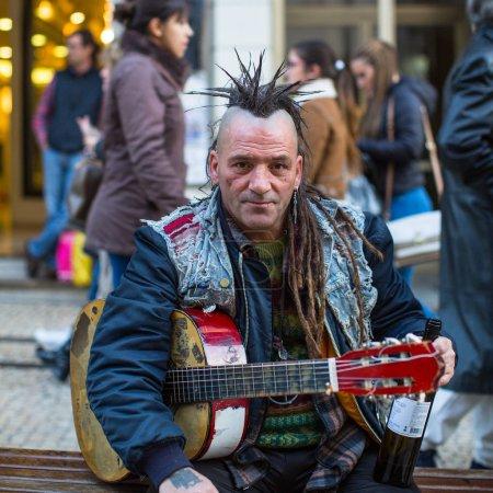 Unknown street musician