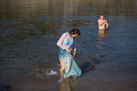 Celebrating Baptism of Jesus and Epiphany