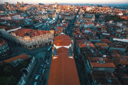 downtown of Porto, Portugal.