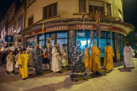 Night Easter procession