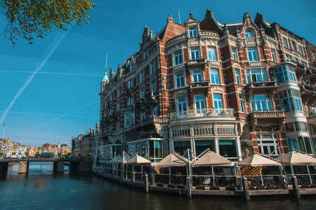 Canal at Amsterdam Central