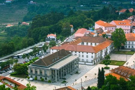 Top view of Lamego city