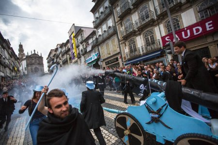 traditional festivity of students of Portuguese universities