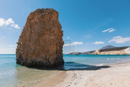 Sea beach in Milos island