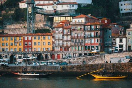 View of Ribeira at Douro river