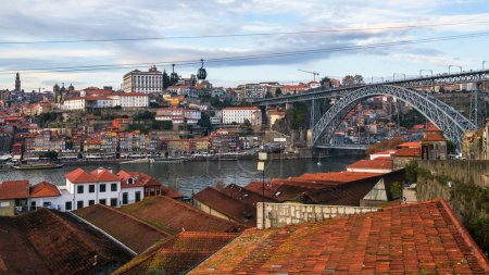 Douro river and Dom Luis I bridge