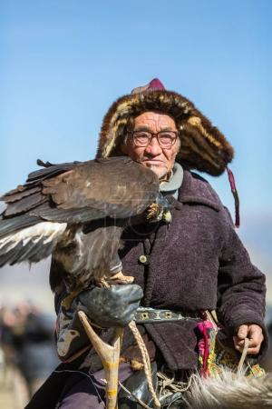 Kazakh Golden Eagle Hunter