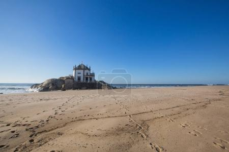Miramar Beach and chapel Senhor da Pedra