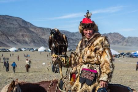 Kazakh Golden Eagle Hunter