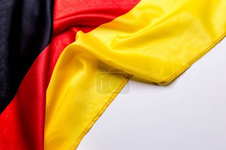 Authentic flag of the Germany