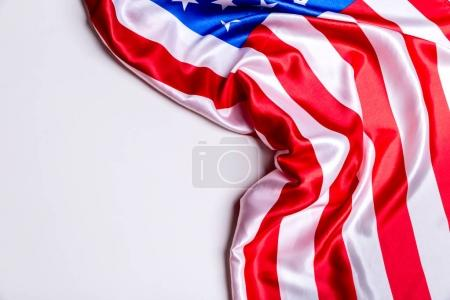Authentic flag of the United States of America
