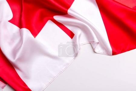 Authentic flag of the Canada