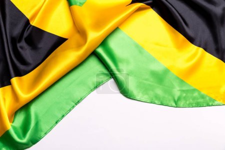 Authentic flag of the Jamaica