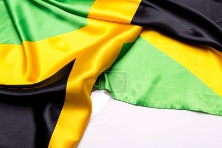 Authentic flag of the Jamaica