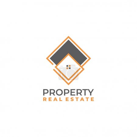 Home logo template vector. Real estate company bra...