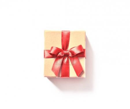 Gift box isolated on white background, copy space