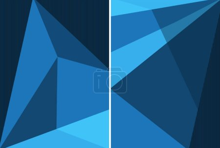 Background design in blue