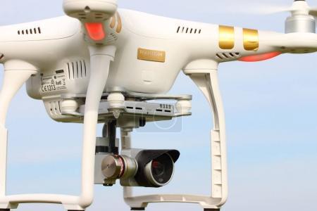 New drone quadrocopter Dji Phantom 4