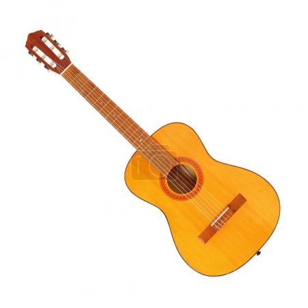 Acoustic guitar view